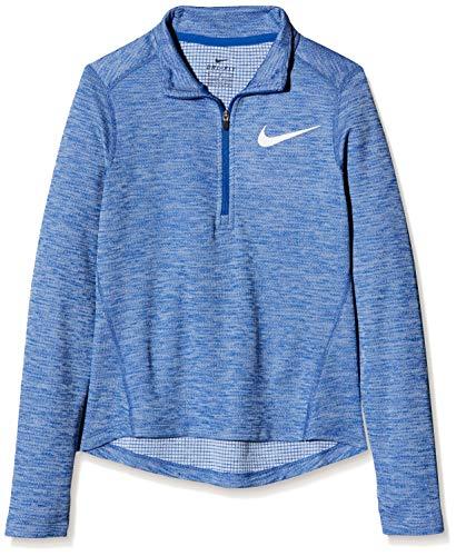 Nike - Running-Longsleeves für Mädchen in Indigo Force/Htr/Reflective Si, Größe XS