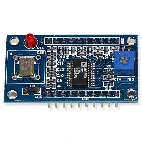Faderr DDS AD9850 módulo generador de señal 0-40 MHz 2 Onda sinusoidal y 2 Equipos de Prueba de Salida de Onda Cuadrada, Show, ad9850