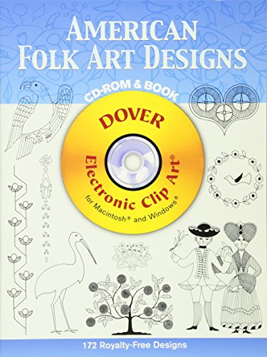 Compare Textbook Prices for American Folk Art Designs CD-ROM and Book Dover Electronic Clip Art CDR/PAP Edition ISBN 9780486997872 by Joseph D'Addetta