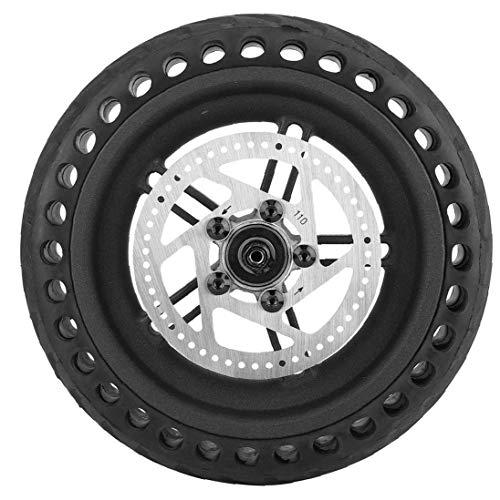 Vespa del neumático Trasero 8,5 Pulgadas Negro Nido de Abeja a Prueba de explosiones Exterior del neumático Rueda de Disco del Cubo para Xiaomi M365