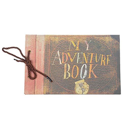 Envision Fotoalbum, Fotoalbum, handgefertigt, Reise-Album für gute Erinnerungen Il mio libro di avventura