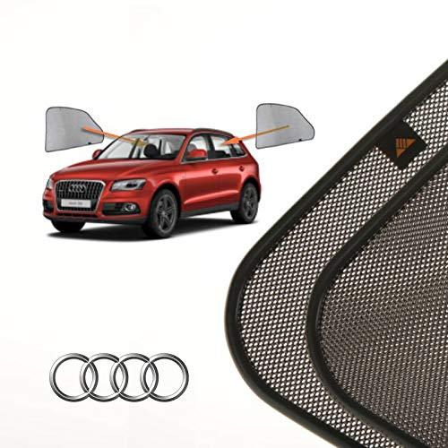 Cortinillas Parasoles Coche Laterales Traseras a Medida para Audi Q5 (1) (8R) (2008-2017) SUV 5 Puertas