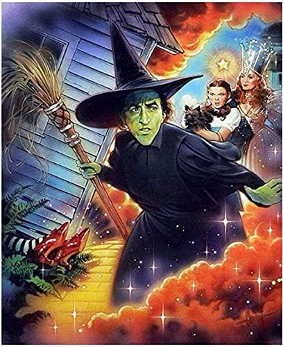 Película El Mago de Oz,Puzzle 1000 Piezas,Puzzle Adulto 1000 Piezas, desafiante Juego de Puzzle.A577M(38 * 26cm)