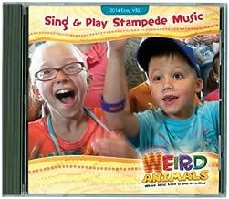 1 X VBS-Disc-Weird Animals-Sing & Play Stampede