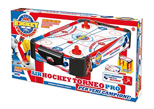 RSTA- Rstoys 9658-Air Hockey Legno 69x37x69 cm, Multicolore, 9658