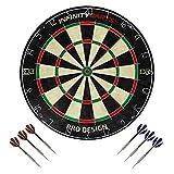 Infinity Darts Bristle Dartboard Set -...