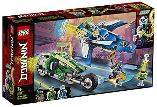 LEGO71709NinjagoVehículosSupremosdeJayyLloydJuguetedeConstrucción
