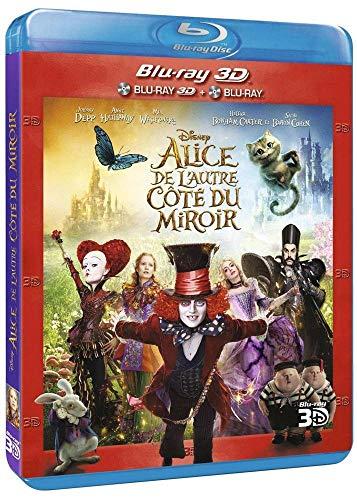 Alice de l'autre côté du Miroir 3D + Blu-Ray 2D