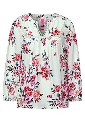 Street One Damen 316394 T-Shirt, Light Shadow Green, 36