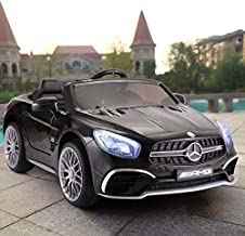 JAXPETY Mercedes Benz 12V Electric Kids Ride On Car Licensed MP3 RC Remote Control (Black)