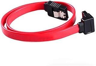 XINGLAI 100pcs SATA Hard Disk Data Cable Connector SATA Data Cable Serial Hard Drive Line SATA Hard Drive Line (Cable Leng...