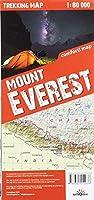 terraQuest Trekking Map Mount Everest