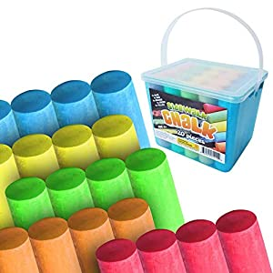 Sidewalk Chalk For Kids & Toddlers 1-3-4-8 Wonderful Sidewalk Chalk For Toddlers as Toddler Chalk Perfect Outdoor Chalk, Birthday Gift, Easter Basket Stuffer This Kids Chalk Set is High Quality & Great For Outside Have Fun With This Chalk Outdoor & C...