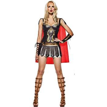 Cosplay Uniforme, Medieval Spartan Mujer Guerrero Traje, Antiguo ...