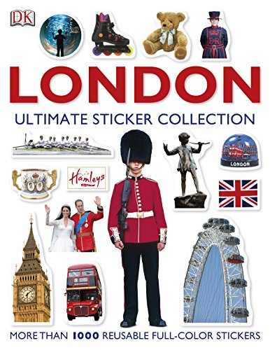 London Ultimate Sticker Collection (DK Eyewitness Travel Guide)