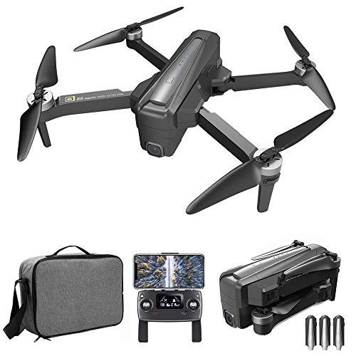 GoolRC MJX B12 EIS GPS RC Drone con Cámara 4K Motor sin Escobillas 5G WiFi FPV Posicionamiento de Flujo óptico Cuadricóptero Estabilización de Imagen electrónica 600m Distancia de Control