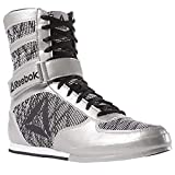 Reebok Boxing Boot Fw, Chaussures d'arts Martiaux Homme, Multicolore (Silver/White/Black 000), 44 EU