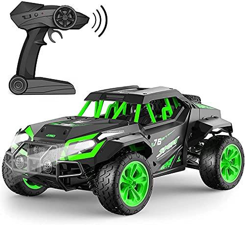 GizmoVine Coche Teledirigido ,4x4 Coche RC Juguete Eléctrico Todoterreno Todoterreno de 25 KM/H de Alta Velocidad,vehículo Monstruo sobre Orugas para Niños y Adultos