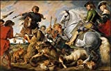 The Poster Corp Peter Paul Rubens and Workshop – Wolf and