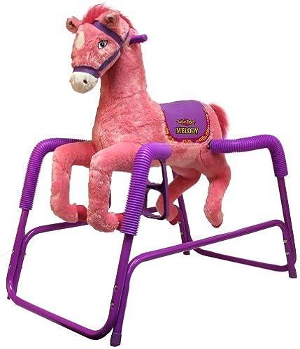 buena reputación Rockin' Rockin' Rockin' Rider Melody Plush Spring Horse by Rockin' Rider  preferente
