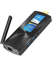 ミニPC スティック型 インテル Celeron J4125プロセッサー 8GB DDR 128GB eMMC 小型 コンピューターWindows 10Pro搭載モデル ミニパソコン 高速Wi-Fi/BT4.2/Type-C/USB 3.0*2 ギガビットイーサネット搭載 ファンなし静音 Mini PC Stick