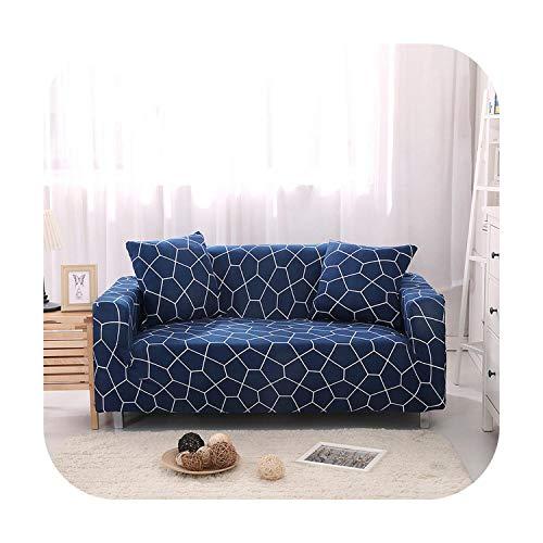 cubierta del sofá de la impresión floral para la sala de estar elástico sofá fundas de esquina sofá toalla sofá cubierta muebles Slipcover-Color 17-2-asiento 145-185cm