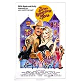 W15Y8 The Best Little Whorehouse in Texas Movie Poster Sexy Silk Poster Decorative Painting -50X70Cm No Frame