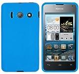 mumbi Schutzhülle für Huawei Ascend Y300 Hülle blau