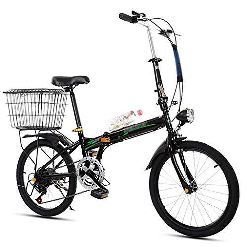 LYTLD 20 Zoll Faltrad Erwachsenenfahrrad, Mountain Faltrad City Bike, Für Bergstraßen Und Regen- Und Schneestraßen