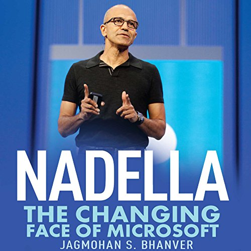 Nadella audiobook cover art
