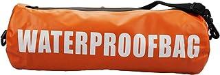 DECP 8L برتقالي مقاوم للماء حقيبة جافة كتف واحد لفة أعلى الحقيبة تبقي معدات تطفو جافة للتجديف وركوب القوارب والسباحة والمش...