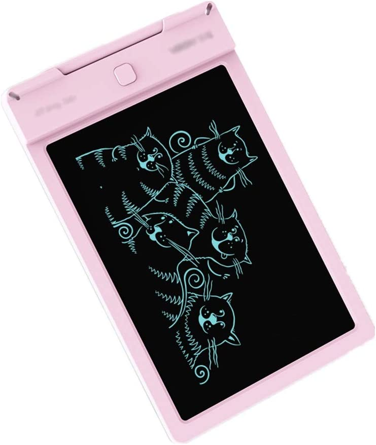 Color : Pink, Size : 9 inches YonCog Creative 9-inch Writing Board Doodle Board Drawing Pad Gifts for Kids Adults Increase Creativity