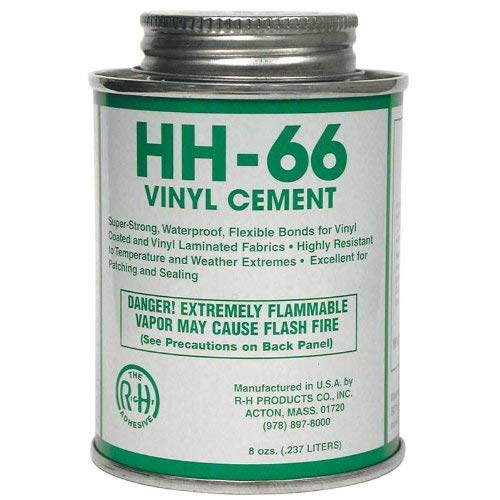 HH-66 Vinyl Cement, 8 Ounce Can by RH Products