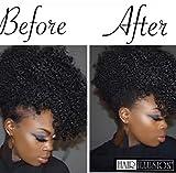 HAIR ILLUSION - 100% Natural Real Human Hair Fibers Not Synthetic (6g, Black)