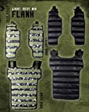 NXe Extraktion Flank Paintball Light Weste digi camo -
