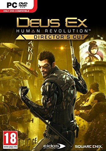 PC DVDROM Deus Ex: Human Revolution Director's Cut (PEGI Uncut)