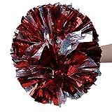 VGEBY1 Cheerleading Pom Pom, 2 Farben-Schein, der Bunte Cheerleader-Pompons für...