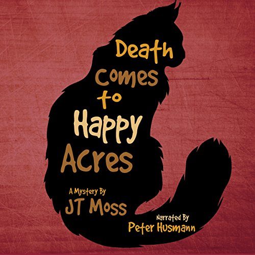 Death Comes to Happy Acres audiobook cover art