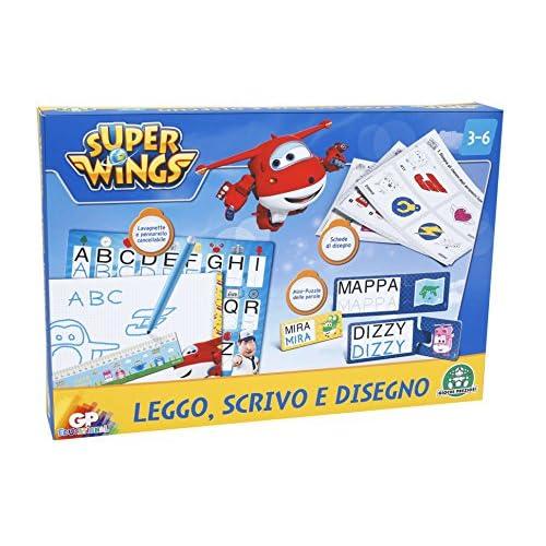 Giochi Preziosi - Super Wings Set Leggo Scrivo e Disegno