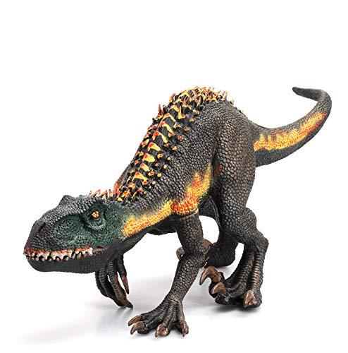 Gemini&Genius Tyrannosaurus Raptor with Movable Mouth Realistic Dinosaur World Indoraptor Jurassic World Figurine Gift for Kids(Super Indo Raptor)
