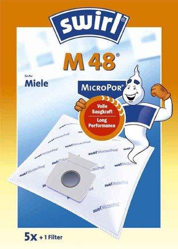 Swirl M 48 MicroPor Staubbeutel