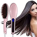 Figment Hair Electric Comb Brush 3 in 1 Ceramic Fast Hair Straightener For Women's Hair...