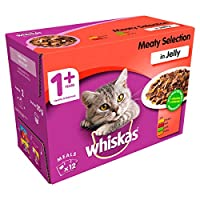 100 % complete and balanced cat meal pouch with no artificial flavours, colours or preservatives Whiskas cat food pouches contain nutritious and tasty pieces to give your cat the meals they love Cat meal pouches have balanced mineral levels to suppor...