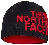 The North Face Rvsbl TNF Banner Gorro, Unisex Adulto, Tnfblk/Tredlogo, OS