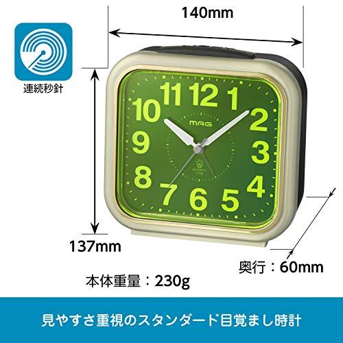 ノア精密 MAG目覚まし時計 コレクトライト T-759 CGM-Z(1個)【ノア精密】