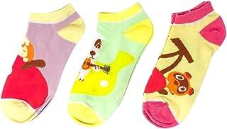 Animal Crossing Nintendo Character 3 Pack Ankle Socks Shoe Size 5-10