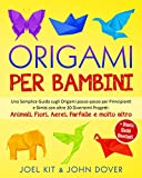 Origami per Bambini: Una Semplice Guida sugli...
