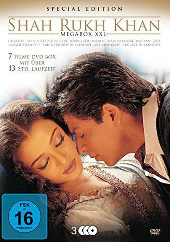 Shahrukh Khan: Megabox XXL (Premium Edition, 3 Discs)