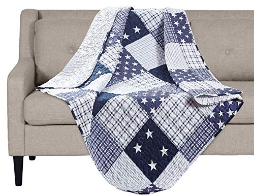 "SLPR Americana Pride Quilted Throw Blanket - 50"" x 60"" 