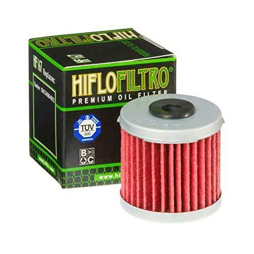 Hiflo Moto Performances Filtre à Huile pour Daelim Vc125 96 > sur Vs125 Vt125 Evolution 97–05 Lml 125 étoile 09–13 125 étoile CVT 12–15 150 étoile CVT 09–15 OE Qualité Hf167